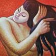 Mujer Peinandose by Jose Mejia Vides